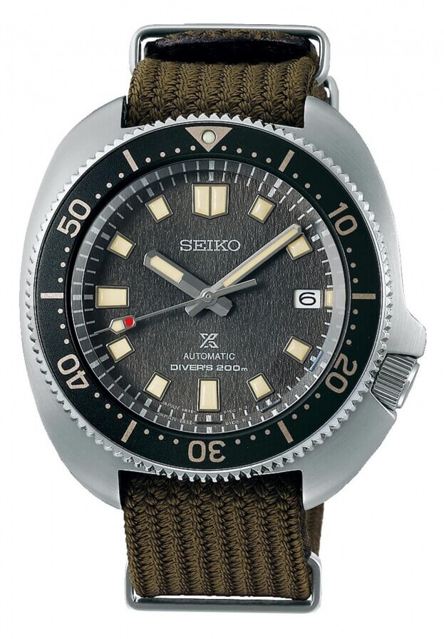 SEIKO Prospex Automatic 42.7mm Γκρι Καντράν Ανδρικό Ρολόι