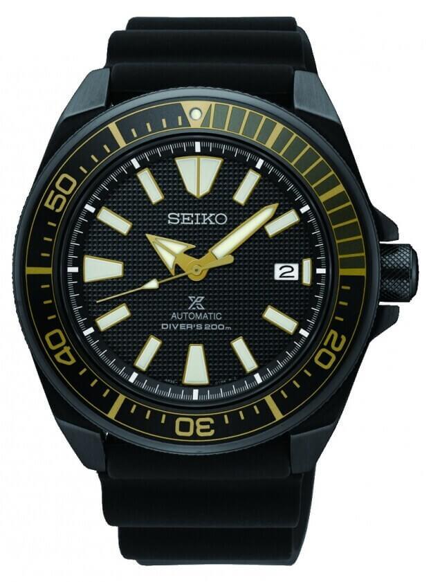 SEIKO Prospex Automatic Mens Watch 43.8mm Black Dial