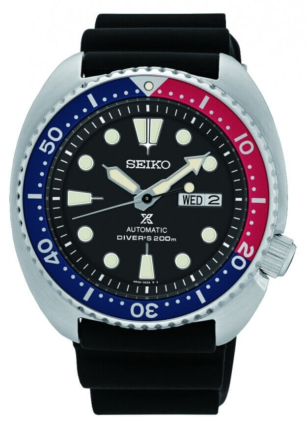 SEIKO Prospex Automatic Mens Watch 44.3mm Black Dial