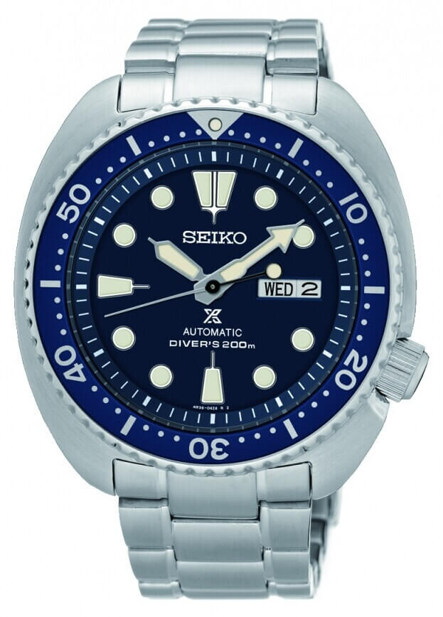 SEIKO Prospex Automatic Mens Watch 44.3mm Blue Dial
