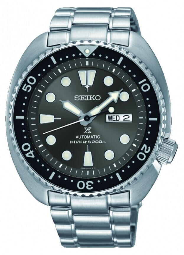SEIKO Prospex Automatic Mens Watch 45mm Black Dial
