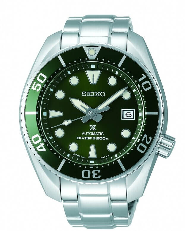 SEIKO Prospex Automatic Mens Watch 45mm Green Dial