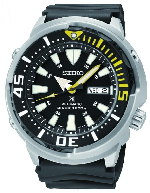 SEIKO Prospex Automatic Mens Watch 48mm Black Dial