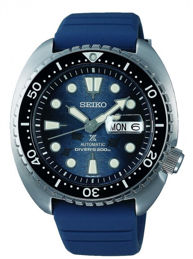 SEIKO Prospex Save The Ocean 'King Turtle' Automatic 45mm Μπλε Καντράν