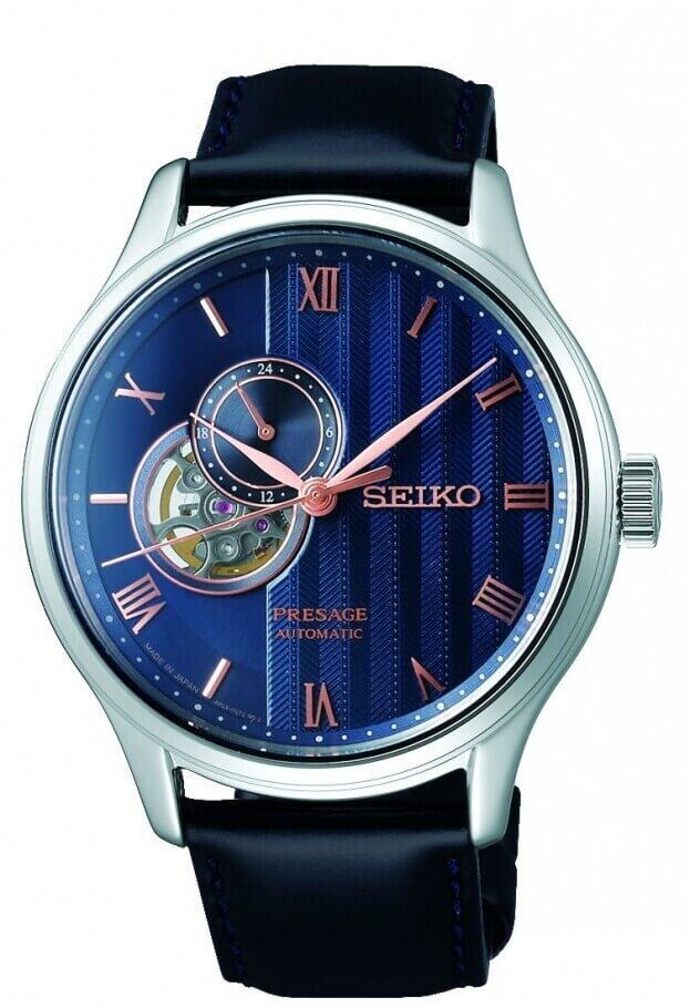 SEIKO Presage Automatic 41.8mm Μπλε Καντράν