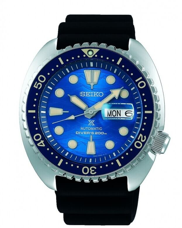 SEIKO Seiko Prospex Save the Ocean 'Turtle' Automatic 45mm Μπλε Καντράν