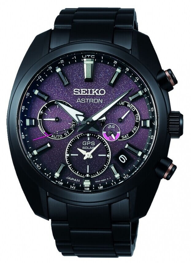 SEIKO Astron 140th Anniversary GPS Solar Limited Edition 42.7mm Μπορντό Καντράν