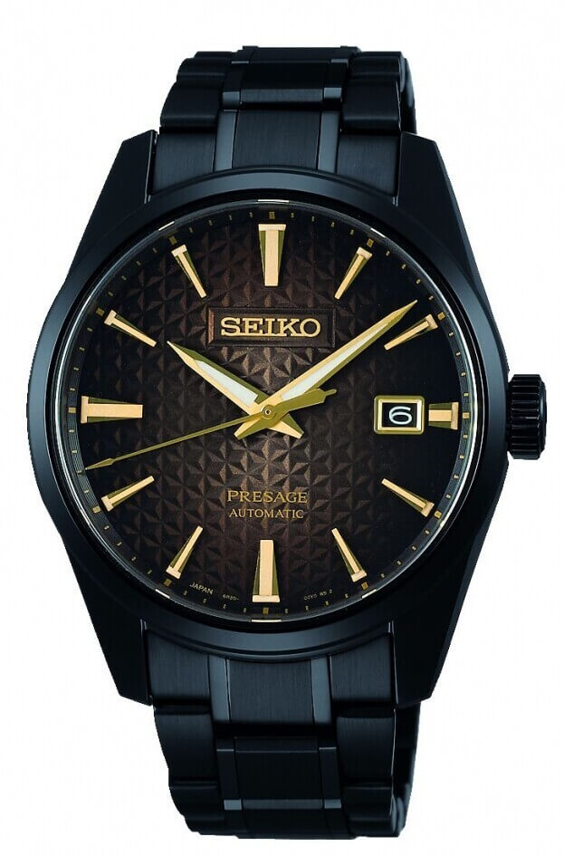 SEIKO Presage 140th Anniversary Automatic Limited Edition 39.3mm Μαύρο Καντράν