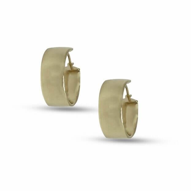 Σκουλαρίκια Inglessis Collection Κίτρινο Χρυσό Κ14