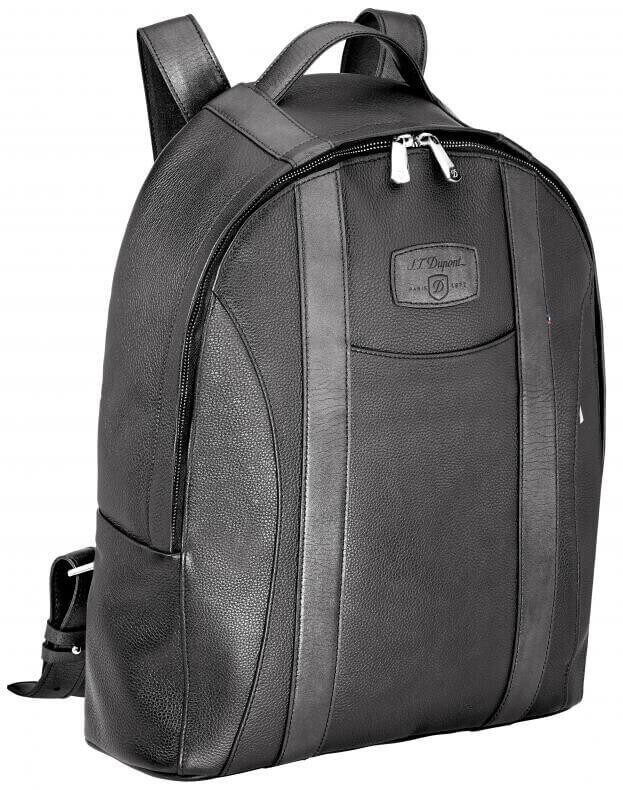 S.T. DUPONT BACKPACK LINE D SOFT DIAMOND GRAINED LEATHER