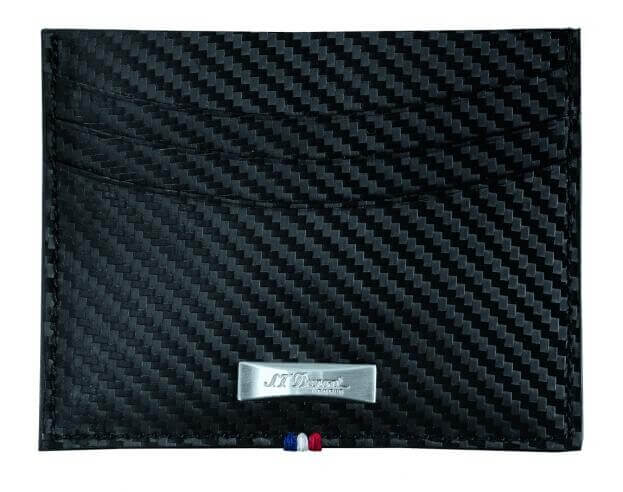S.T. DUPONT CARD HOLDER CARBONE D170006