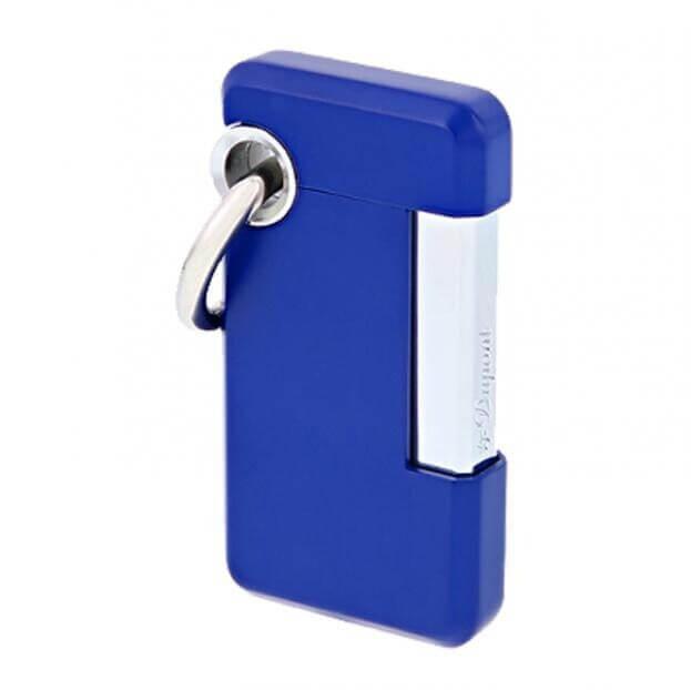 S.T. DUPONT Hooked DISC-O Lighter BLUE D032003