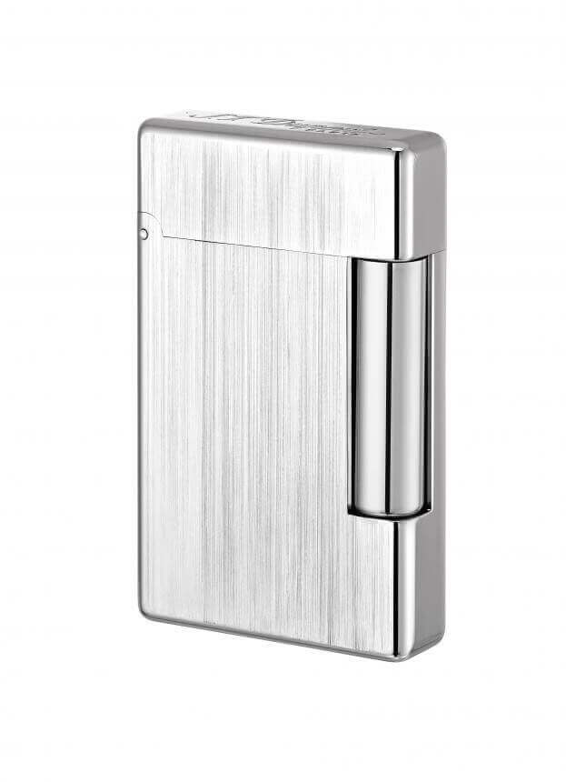 S.T. DUPONT INITIAL WHITE BRONZE BRUSHED LIGHTER 020804