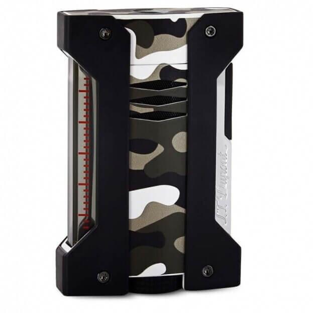S.T. DUPONT Lighter Defi Extreme Camouflage Αναπτήρας Μαύρο