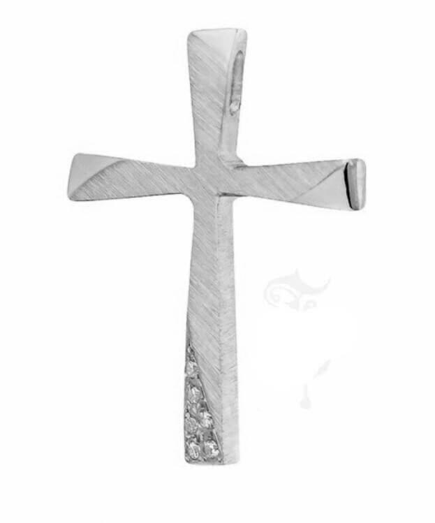 ΣΤΑΥΡΟΣ Κ14 ΛΕΥΚΟ ΧΡΥΣΟ TRIANTOS 111365ΛΧ