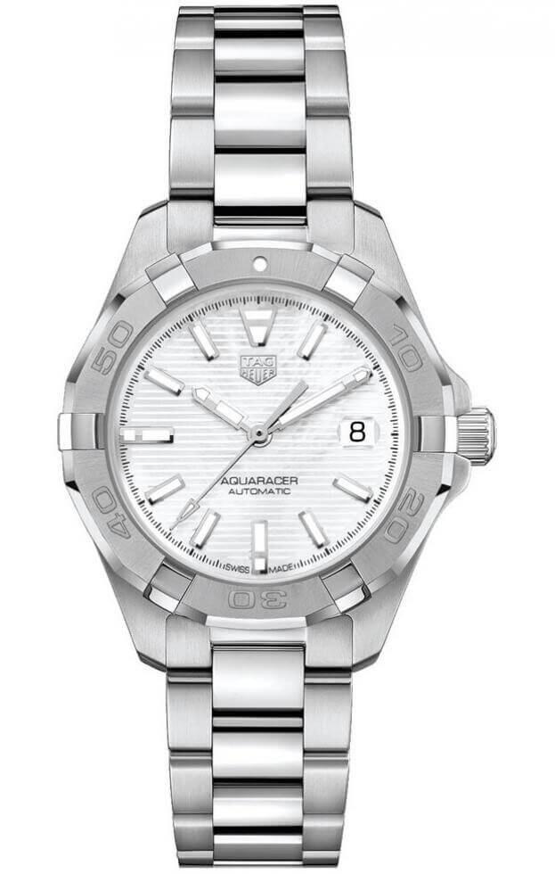 TAG HEUER Aquaracer Automatic 32mm Λευκό Mother-of-Pearl Γυναικείο Ρολόι