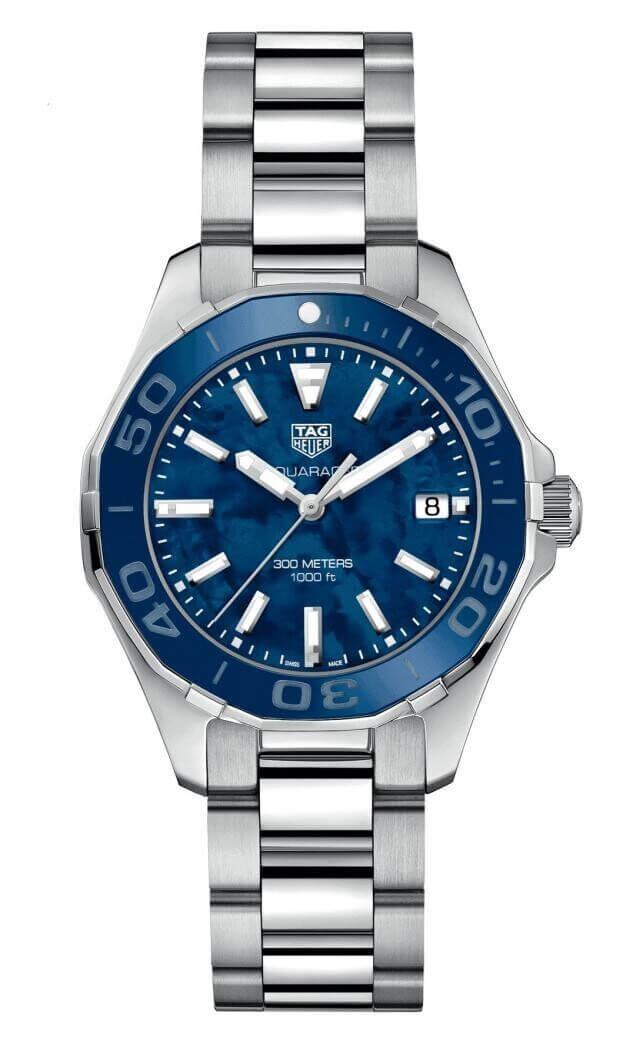 TAG HEUER Aquaracer Lady Quartz 35mm Μπλε Καντράν Γυναικείο Ρολόι