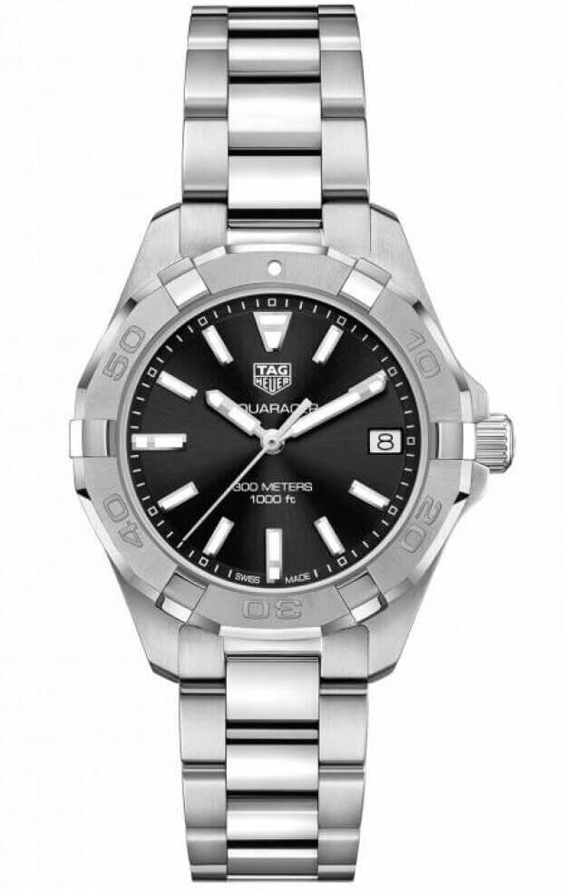 TAG HEUER Aquaracer Lady Quartz 32mm Μαύρο Καντράν Γυναικείο Ρολόι
