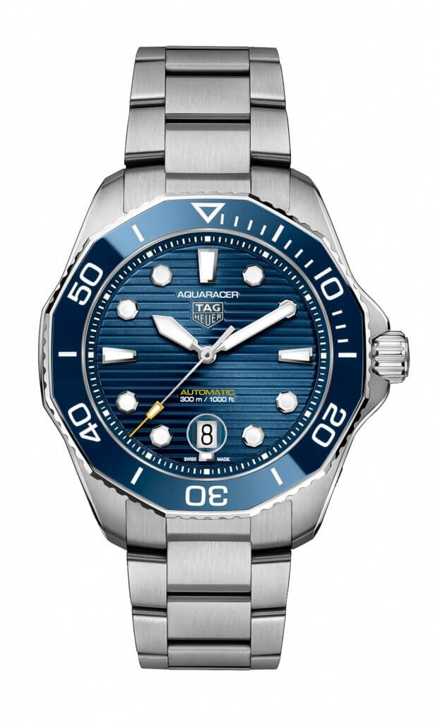 TAG HEUER AQUARACER PROFESSIONAL 300 Automatic Watch 43 mm Μπλε Καντράν Ανδρικό Ρολόι