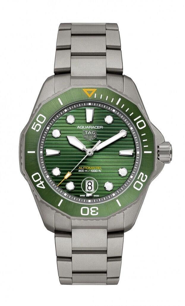 TAG HEUER AQUARACER PROFESSIONAL 300 Automatic Watch 43 mm Titanium Μαύρο Καντράν Ανδρικό Ρολόι