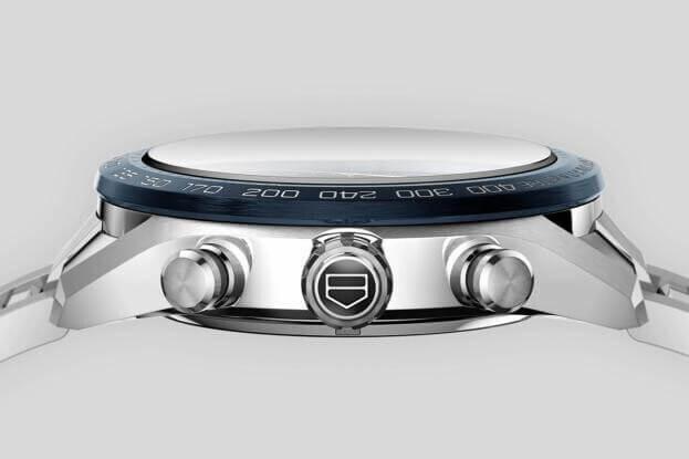 TAG HEUER Carrera Chronograph Automatic 44mm Μπλε Καντράν Ανδρικό Ρολόι