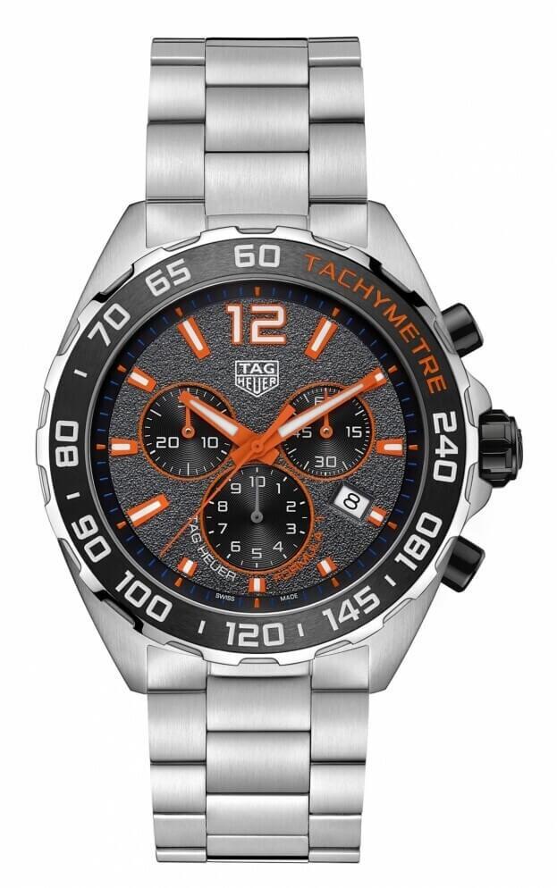 TAG HEUER Formula 1 Quartz Chronograph 43mm Anthracite Dial Mens Watch