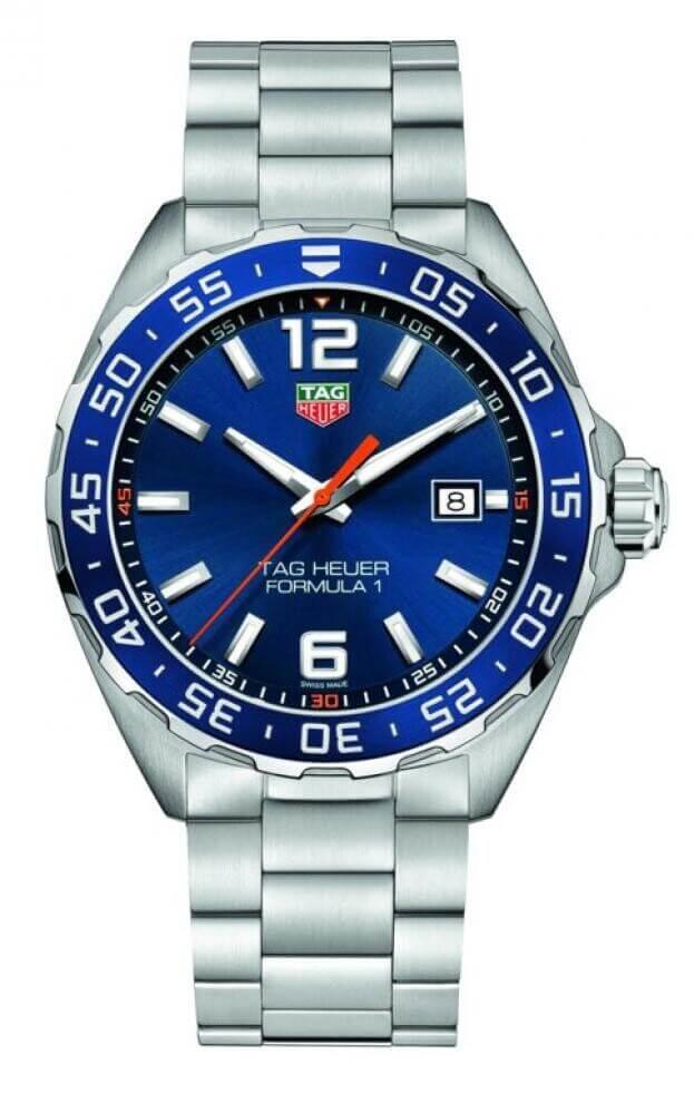 TAG HEUER Formula 1 Quartz 43mm Μπλε Καντράν Ανδρικό Ρολόι