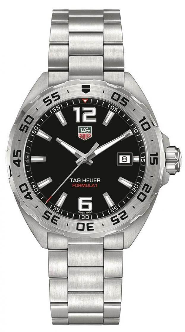 TAG HEUER Formula 1 Quartz 41mm Μαύρο Καντράν Ανδρικό Ρολόι