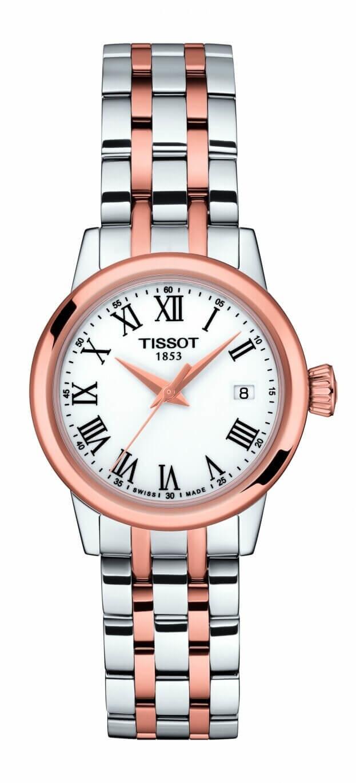 TISSOT Classic Dream Lady Quartz 28mm Λευκό Καντράν Γυναικείο Ρολόι