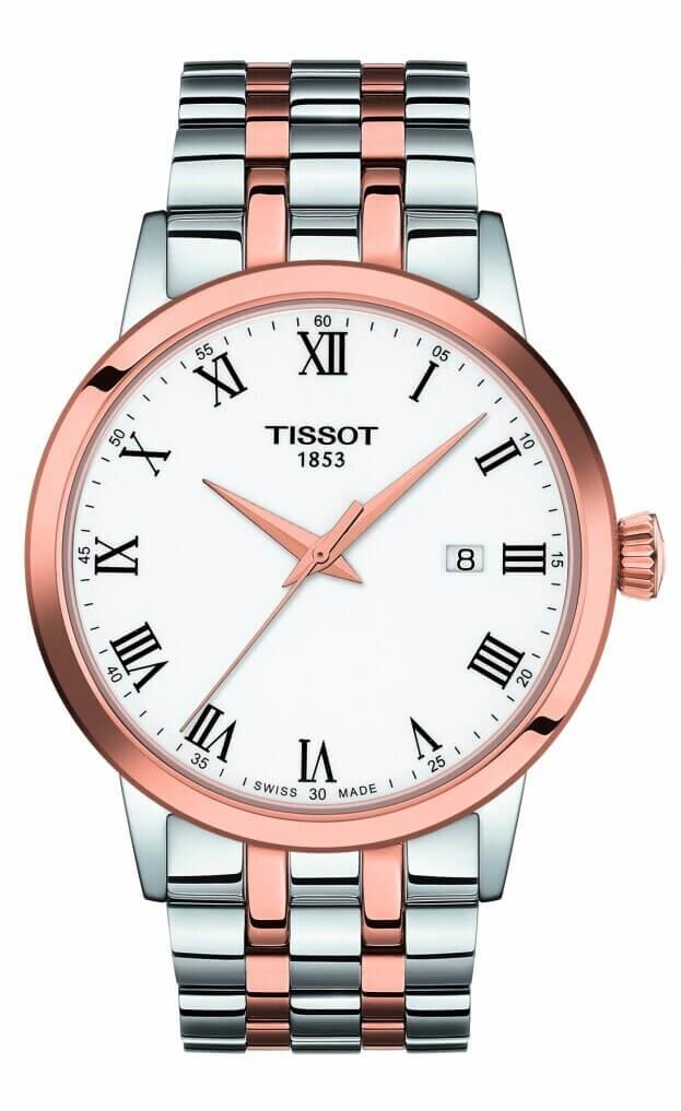 TISSOT Classic Dream Quartz 42mm Λευκό Καντράν Ανδρικό Ρολόι