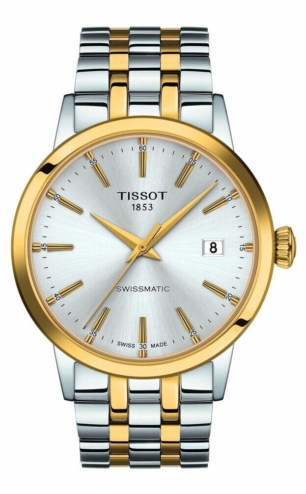 TISSOT Classic Dream Swissmatic 42mm Ασημί Καντράν Ανδρικό Ρολόι