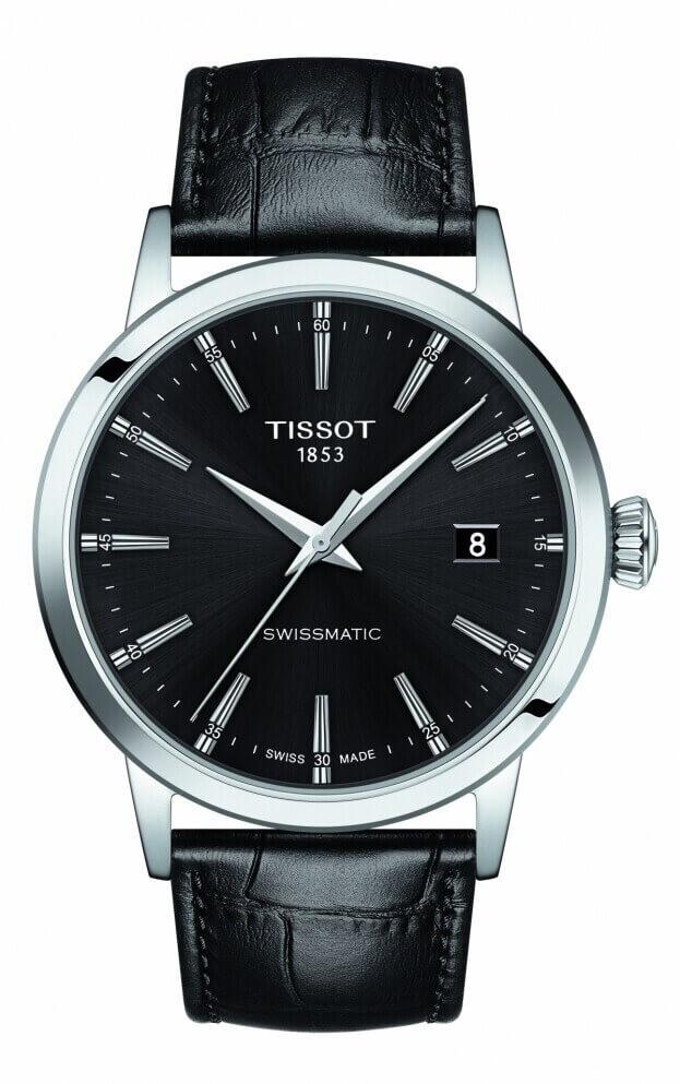 TISSOT Classic Dream Swissmatic 42mm Μαύρο Καντράν Ανδρικό Ρολόι
