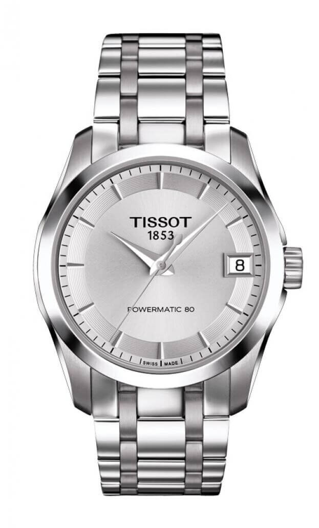 TISSOT COUTURIER LADIES POWERMATIC 80