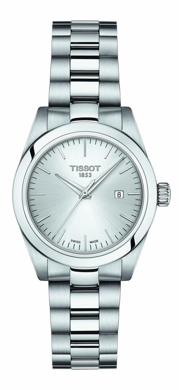 TISSOT T My Lady Quartz 29.3mm Ασημί Καντράν Γυναικείο Ρολόι