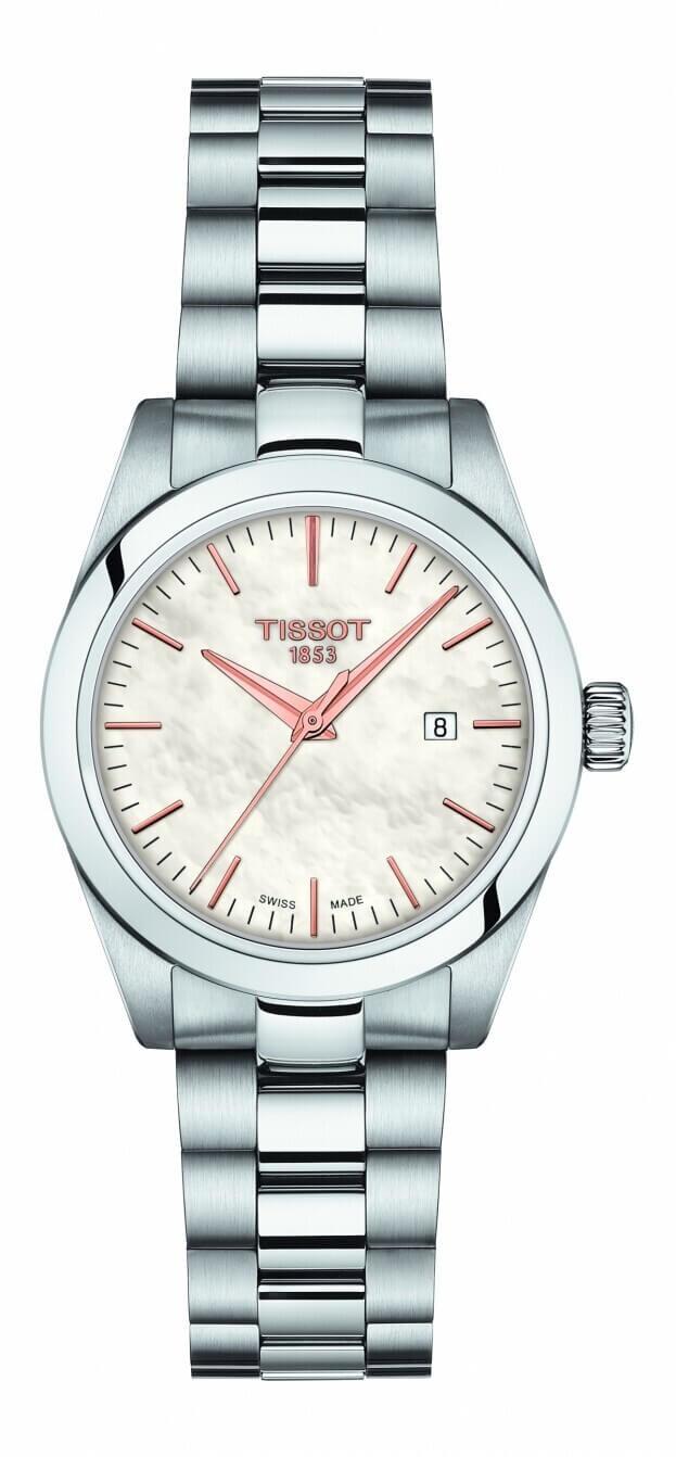 TISSOT T My Lady Quartz 29.3mm Λευκό Φίλντισι Καντράν Γυναικείο Ρολόι