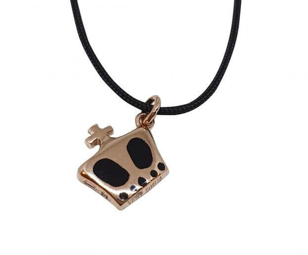 VERY GAVELLO KING ROSE GOLD K9 PENDANT VPKIXR1
